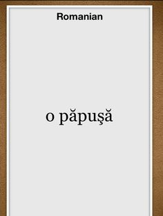 learning Romanian