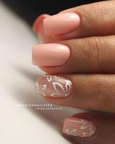 Cute Nails, Pretty Nails, Fancy Nails, Nagel Hacks, Nagellack Design, Wedding Nails Design, Foil Nails, Nagel Gel, Nail Decorations