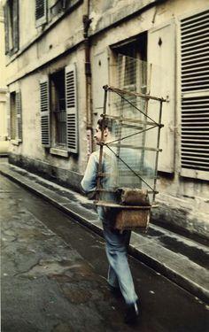 Paris - glazier on rue Cardinal - Peter Cornelius, mid-late 1950's