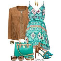 """""""Tribal dress"""" by julyjess on Polyvore"""