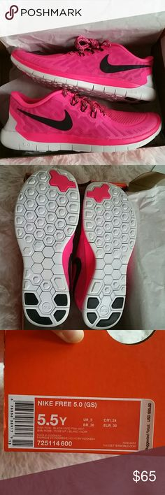newest e901c 4832d Nike free 5.0 kids. Girls Brand new with box. Color pink. Girls (