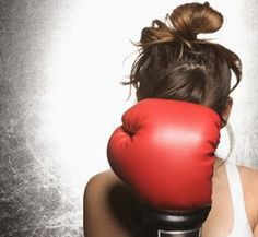 i have been asking for a punching bag for YEARS... no one takes me seriously.. i guess i need a more fierce appearance :)