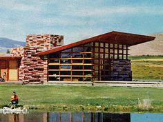 Frank Lloyd Wright Usonian Blair Residence Cody, WY 1952