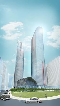 Greenland Yinchuan Super Tall Project by John Portman and Associates / Yinchuan China