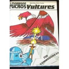 Vultures for Commodore 64 from J. Morrison Micros