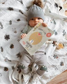 5 month old cutie! @_kellypacker Milestone Card Packs at spesrmintLOVE.com