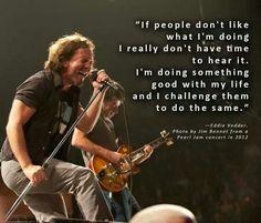 Eddie Vedder quote