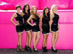 Frankie Sandford Photos Photos - (L-R) Frankie Sandford, Rochelle Wiseman, Una Healy,Vanessa White and Mollie King of The Saturdays launch T-Mobile's Big Sofa/Night In on June 2, 2010 in London, England. - T-Mobile's Big Sofa/Night In - Launch