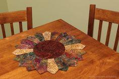 Nancy Zieman's Sunflower Table Topper sewn from fabric scraps | Nancy Zieman Blog