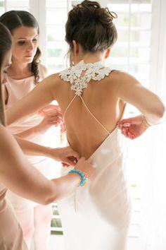The Parker Palm Springs - Michael Segal Weddings. #theparkerpalmsprings #wedding #weddinggown #michaelsegal