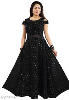 Checkout this latest Dresses Product Name: *Elegant Maxi Dress* Fabric: Jacquard Sleeve Length: Short Sleeves Pattern: Zari Woven Multipack: 1 Sizes: M, XL, XXL, Free Size (Bust Size: 42 in, Length Size: 55 in)  Country of Origin: India Easy Returns Available In Case Of Any Issue   Catalog Rating: ★4.1 (2151)  Catalog Name: Classic Fashionista Women Dresses CatalogID_1612220 C79-SC1025 Code: 264-9252876-9991