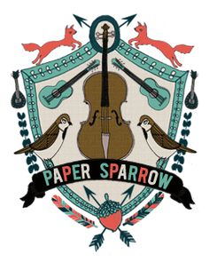 Paper Sparrows crest logo is the best. Paper Design, Design Art, Logo Design, Design Ideas, Typography Logo, Lettering, Logos, Crest Logo, University Logo