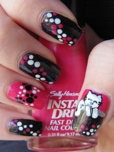 Stylish and Easy Nail Art Ideas - Once you've decided to save some money and energy by doing your own manicure, you'll be thrilled to skim through the following stylish and easy nail art ideas. Expand the color palette and explore the visual impact of neutrals and bright hues.