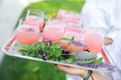 Why not serve homemade cocktails at your reception or evening do? Check out our wedding themed tipples on BridesMagazine.co.uk