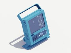 Animated 90′s Technlogy by Guillaume Kurkdjian | iGNANT.de