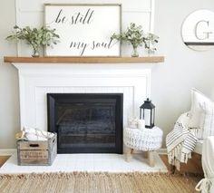 Incredible diy brick fireplace makeover ideas 37