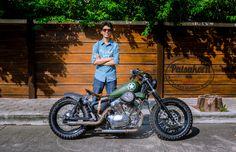 My Bike. YAMAHA VIRAGO 250 Yamaha Virago 250 Custom Military Style