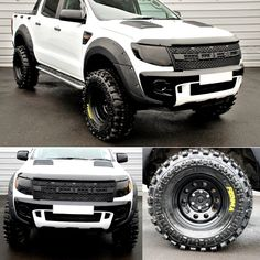 Check this out! This car is my dream whip. Ford Ranger Truck, Ford Ranger Raptor, Ford Pickup Trucks, Ford Raptor, Chevy Trucks, Raptor Truck, Navara D40, Ford Ranger Wildtrak, Vw Amarok