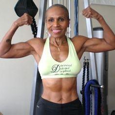 Ernestine Shepherd: the world's oldest competitive female bodybuilder.