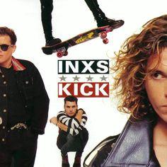 Caratula Frontal de Inxs - Kick