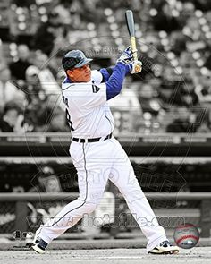Miguel Cabrera 2011 Spotlight Action Photo 8 x 10in
