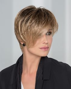 AMAZE - A fancy asymmetric cut combined with a sophisticated sliced neck section. 'Amaze' is a state-of-the-art cut both modern and stylish. A contemporary and fashionable statement for women at the pulse of times.