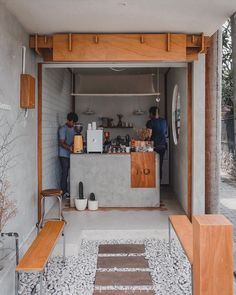 A month old coffee shop in Bali, Mannaka Bali offers you a various choice of cof… - restaurant design small - Coffee Cafe Shop Design, Small Cafe Design, Cafe Interior Design, Coffee Cafe Interior, Small Restaurant Design, Small Coffee Shop, Coffee Store, Mini Cafeteria, Café Design