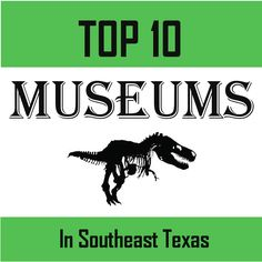Best Museums to visit in Southeast Texas or Houston/Beaumont areas!