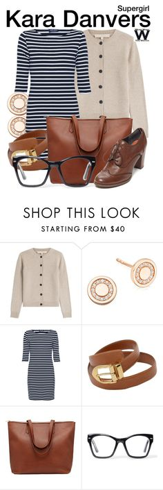 """""""Supergirl"""" by wearwhatyouwatch ❤ liked on Polyvore featuring Vanessa Bruno, Astley Clarke, Saint James, Louis Vuitton, Spitfire, Tommy Hilfiger, women's clothing, women's fashion, women and female"""