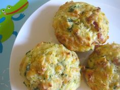 Savoury Muffins for Toddlers - minus the bacon!