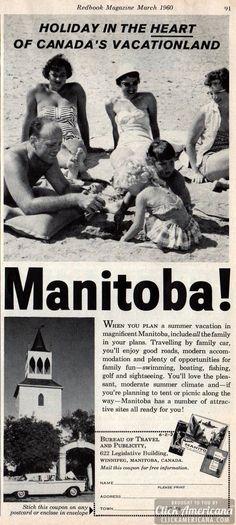 Holiday in Canada's vacationland: Manitoba (1960).  bwaaaaa hahahha  now that's funny!