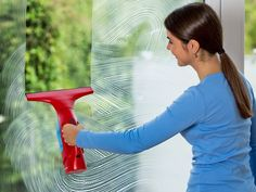An easy way to clean the windows.