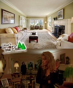 In vendita la casa di Laura Palmer, vista in Twin Peaks.  #twinpeaks #davidlynch