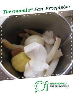 zupa krem ze szparagów jest to przepis stworzony przez użytkownika mu_nika. Ten przepis na Thermomix<sup>®</sup> znajdziesz w kategorii Zupy na www.przepisownia.pl, społeczności Thermomix<sup>®</sup>.