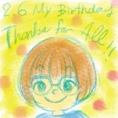 お誕生日メッセージやDMやLINEをありがとうございました😊 Thanks for your birthday wish!! 年齢という概念をさほど重要だと思っていないmisatoです。 なんせ、年を追うごとにエキサイティングで楽しい人生になっていっているから。 心はますます若返っていきます。 「何歳だから」という概念も持ちません。  ってことで これからもmisatoをよろしくお願いいたします!  #birthday #appreciate #thankyou #illustration #illustrator