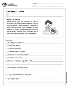 Learn Spanish For Adults Teaching Info: 3683155204 Spanish Grammar, Spanish Language Learning, Spanish Teacher, Speech And Language, Spanish Alphabet, Spanish Classroom Activities, Spanish Teaching Resources, Comprehension Activities, Reading Comprehension