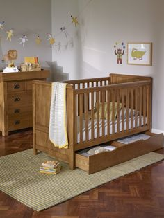 This is a real investment piece when planning your child's nursery. Have a look through the rest of the Original Rustic Nursery collection, and see how the furniture will work together and have lasting appeal and usefulness throughout your baby's first years.