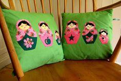 Matryoshka cushions
