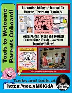 Let's welcome teens' parents onboard in ways that benefit all!   https://www.teacherspayteachers.com/Store/Ellen-Weber-Brain-Based-Tasks-That-Boost-Talent/Category/Parents-263279