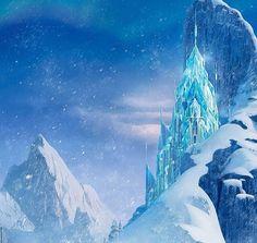 dibujo castillo frozen  Buscar con Google  FROZEN PARTY