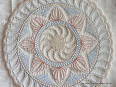 The Quilt Yarn: Background Work on Wholecloth Practice Quilt