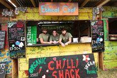 Image result for glastonbury festival food stalls