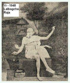 Lalbaugcha Ganesh Image 1948