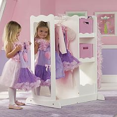 Captivating Dress Up Center With Storage