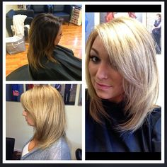 Hair Cut Colored & Styled By Amber Hall. Halo Designs Salon