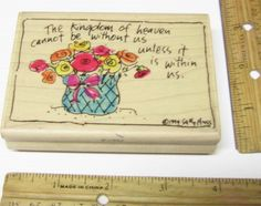 THE KINGDOM OF HEAVEN BY STAMPASSIONS F-1234 Rubber Stamp   #stampassions #RUBBERSTAMP
