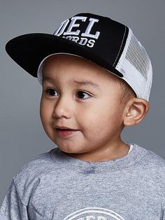 0d52bce427f Del Records Trucker Kids Snap Back