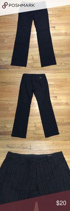 Mason mens striped dress pants - 31x30 Mason mens striped dress pants - 31x30. Waist - 15.5 inches. Rise - 8 inches. Inseam - 30 inches. Excellent condition Mason Pants Dress