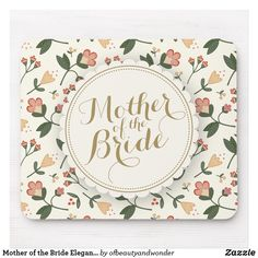 Shop Elegant Happy Mother's Day Floral Frame Mousepad created by ofbeautyandwonder. Elegant Wedding, Wedding Bride, Floral Wedding, Wedding Gifts, Personalized Products, Personalized Wedding, Marshall And Lily, Mr And Mrs Wedding, Custom Mouse Pads