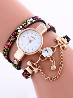 SHARE & Get it FREE   Chain Beaded Layered Watch - RedFor Fashion Lovers only:80,000+ Items • New Arrivals Daily Join Zaful: Get YOUR $50 NOW!